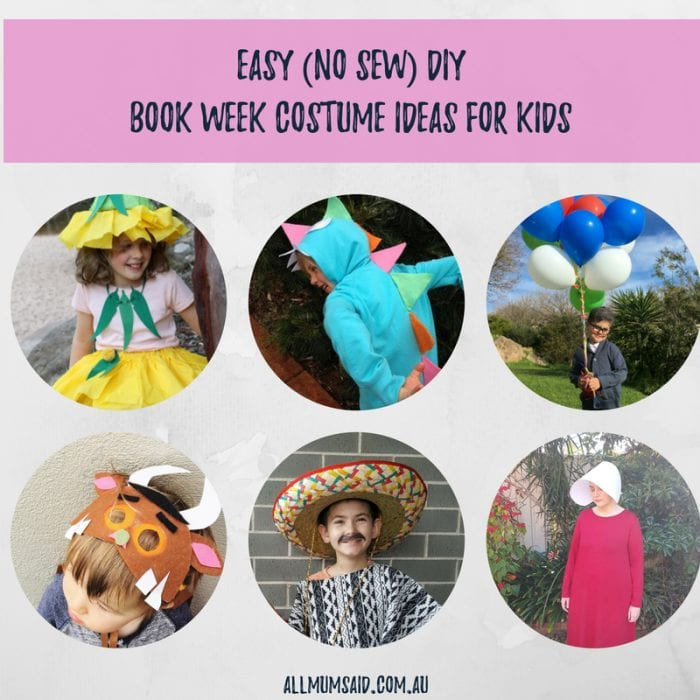Easy DIY Book Week Costume Ideas For Kids